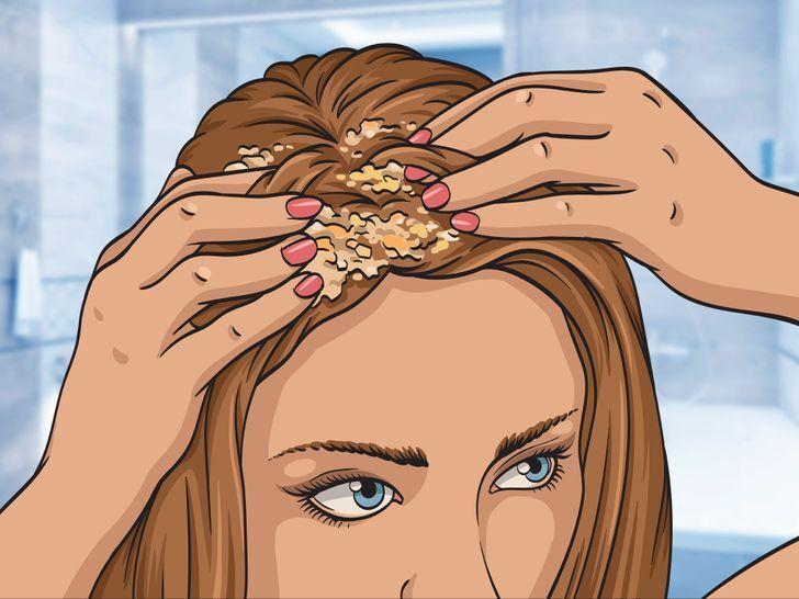 ủ tóc bằng bột yến mạch