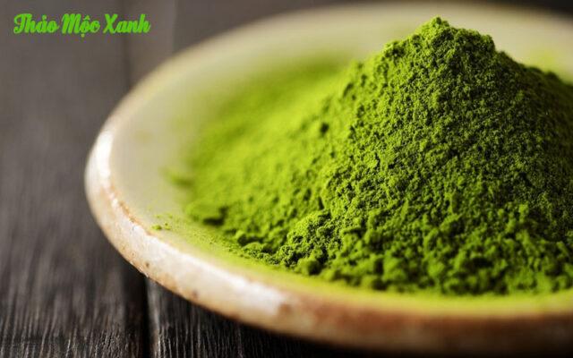 Bột trà xanh nguyên chất Thảo Mộc Xanh