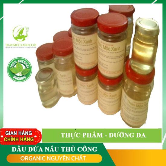 Dầu dừa nguyên chất Thảo Mộc Xanh giá rẻ