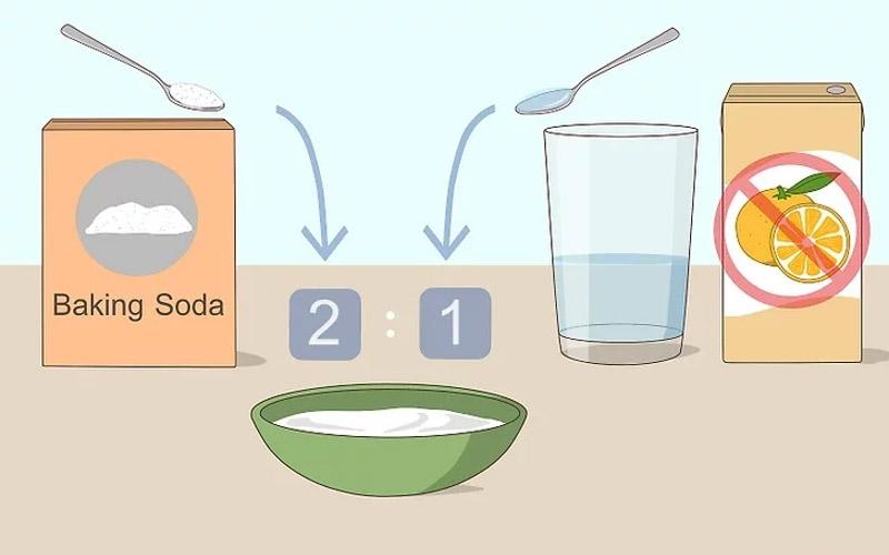 Baking soda làm trắng răng hiệu quả