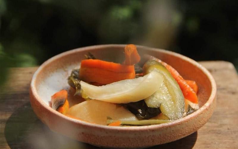 Món ăn từ Cám gạo hữu cơ
