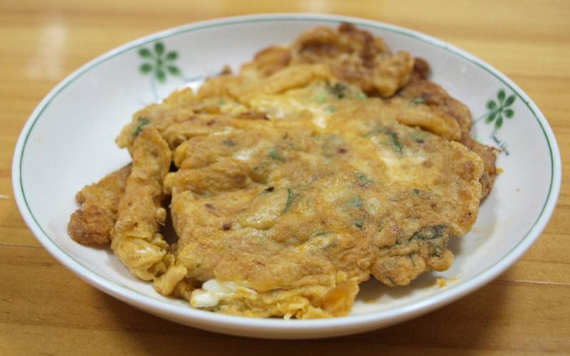 Trứng cám gạo hữu cơ