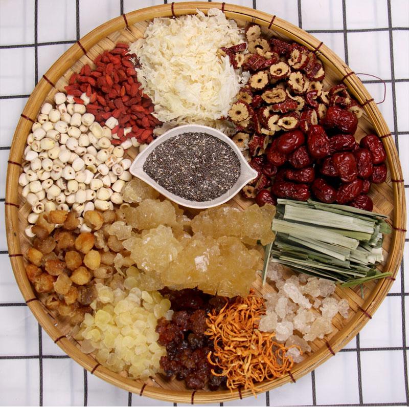 Cách nấu chè dưỡng nhan, cách nấu chè tuyết yến 12 vị
