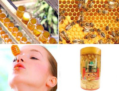 Mot so tac dung phu cua sua ong chua khi dung