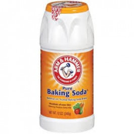 Baking soda chuyển rửa rau củ quả