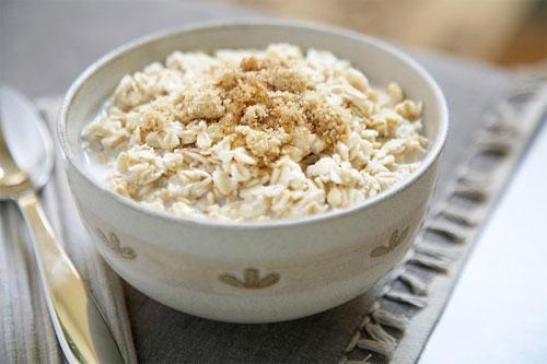 Thức ăn dinh dưỡng từ bột yến mạch