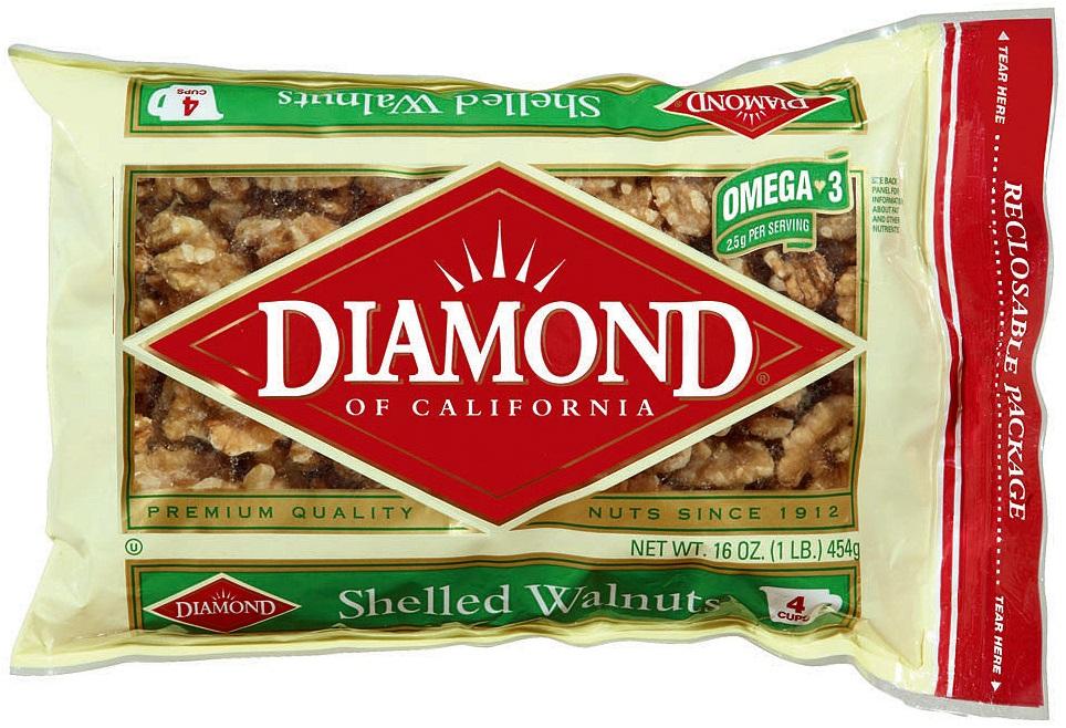Hạt óc chó Diamond