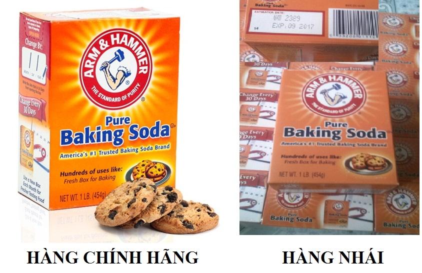 Phân Biệt Baking Soda Thật Giả